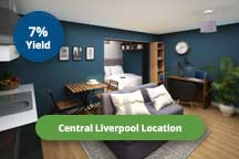 City centre student accommodation in Liverpool
